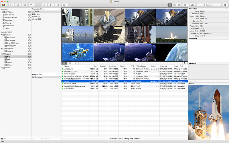 Cinematica 3 Professional Video Management Software Image