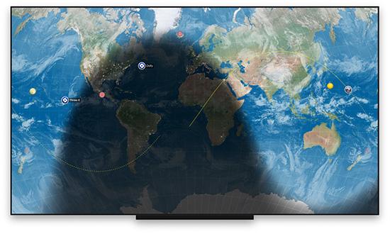Xeric Design brings EarthDesk to Apple TV Image