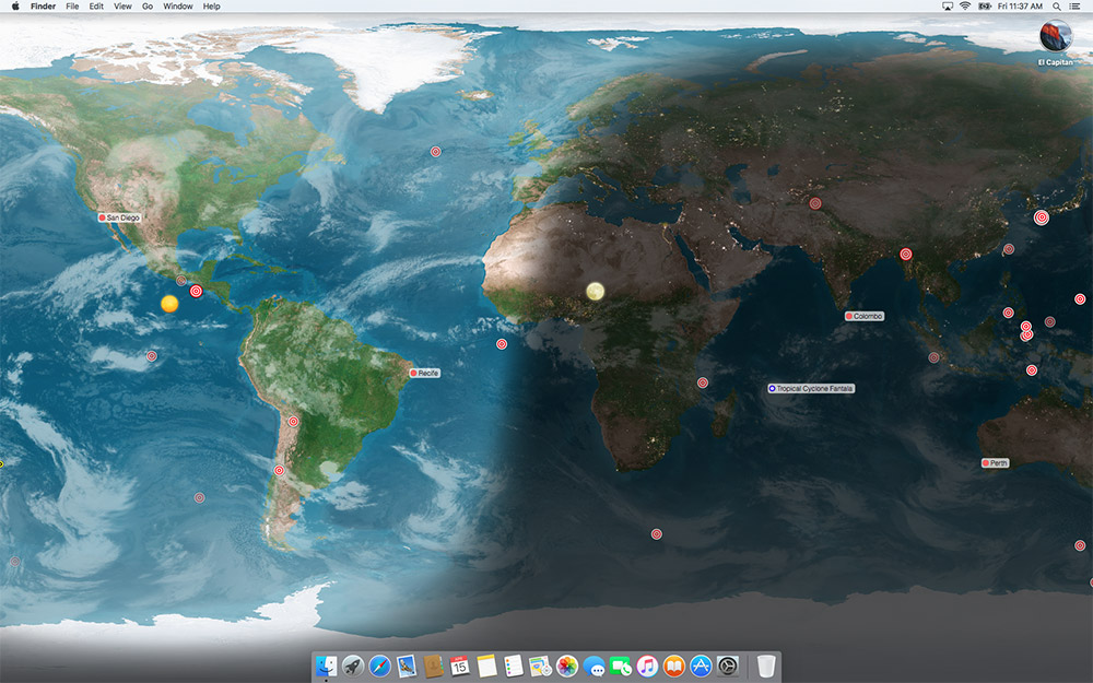 Xeric design ltd earthdesk earthdesk requires mac os x 1010 or newer download gumiabroncs Gallery